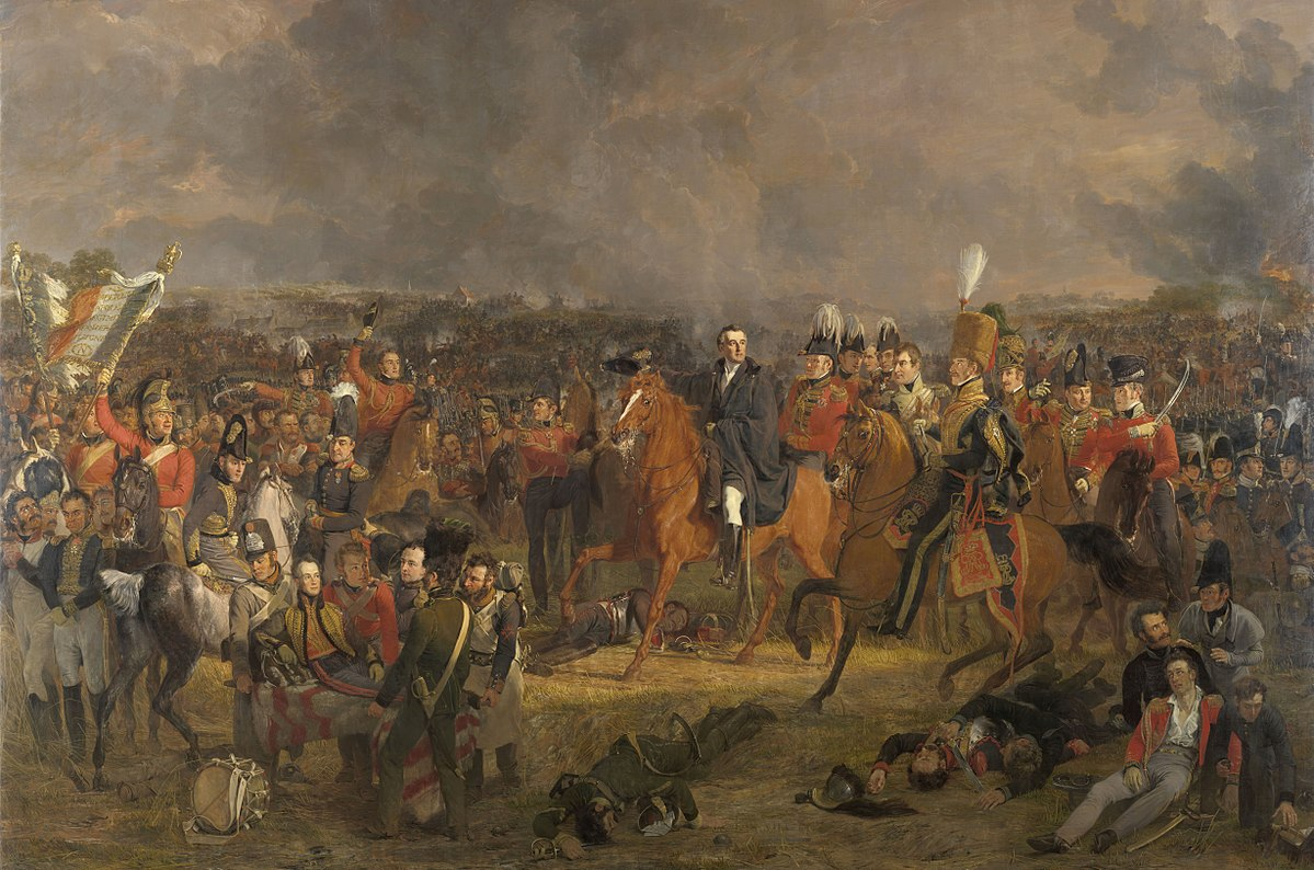 Another European Empire Ends at Waterloo