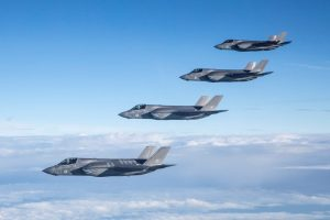 First Overseas Deployment of RAF's F-35B Lightning Fighter Jets Scheduled