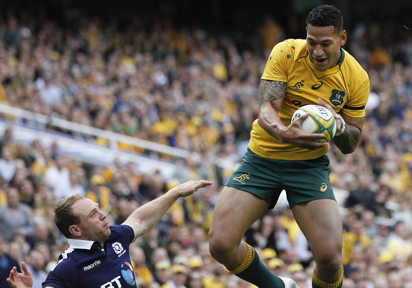 Israel Folau: Moral Compass All Askew as Virtue Is Eclipsed by Values