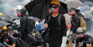 """Protesters Appeal to the US to """"Liberate Hong Kong"""""""
