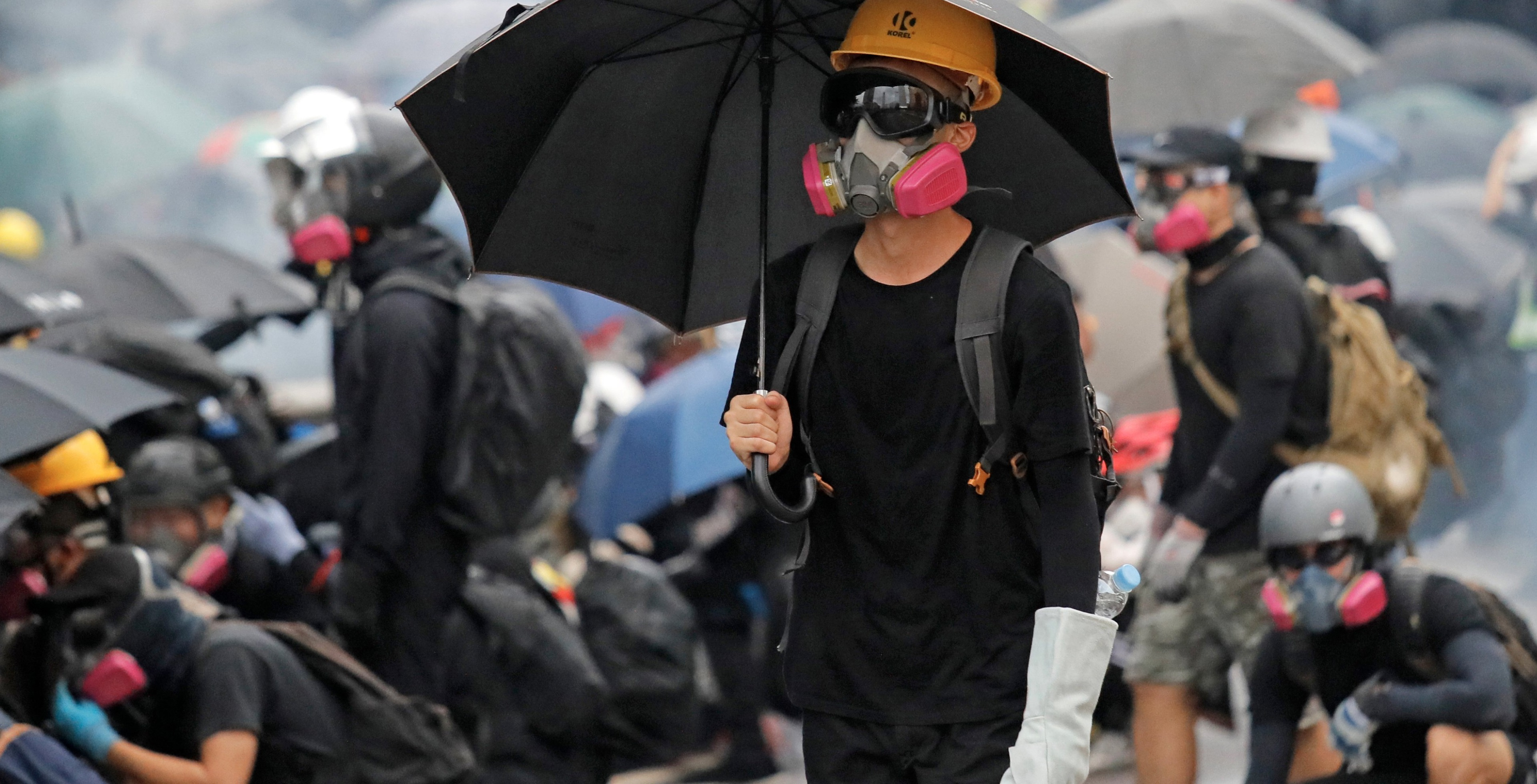 "Protesters Appeal to the US to ""Liberate Hong Kong"""