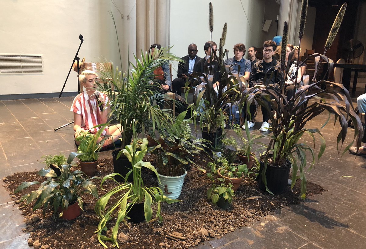 "Theology Students Are Being Taught to Confess their ""Climate Sins"" while Sitting in Front of a Bunch of Potted Plants…"