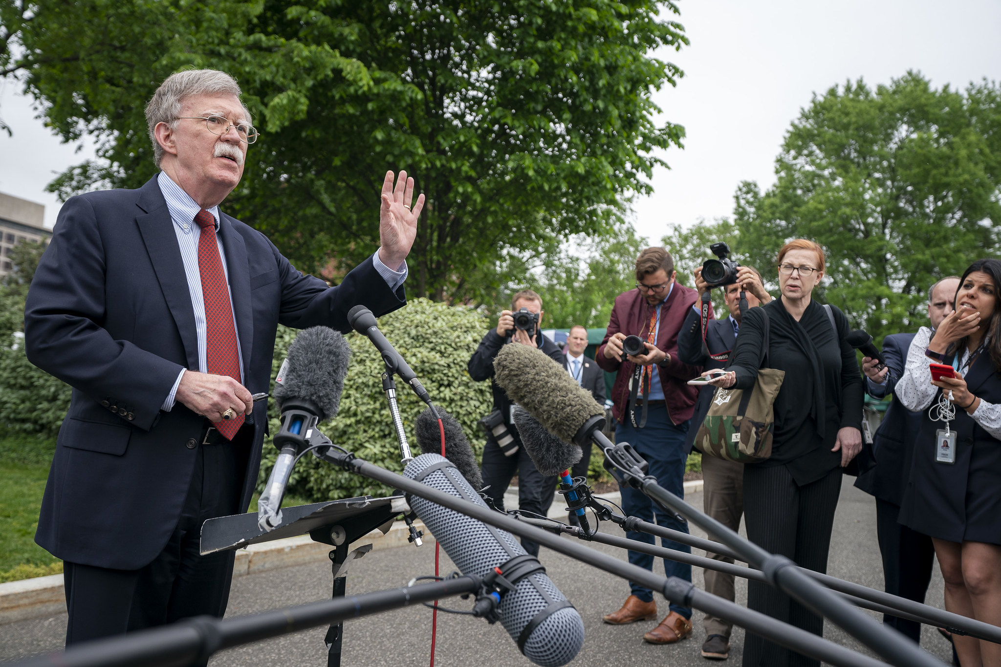 "There Is a Lot of Speculation that John Bolton Is the ""Second Whistleblower"""