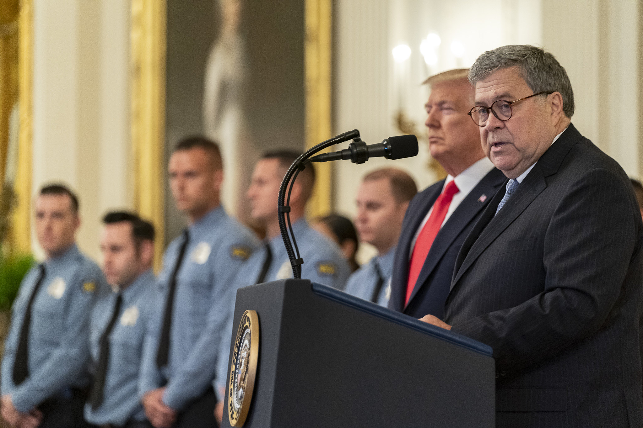 The Campaign to Stop William Barr