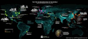 Ranked: The Megaregions Driving the Global Economy