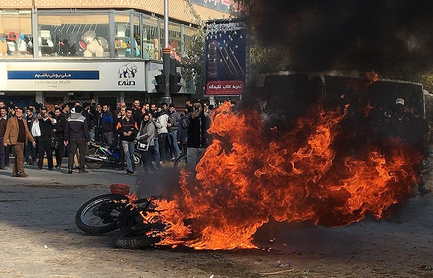 A Week of Protests in Iran Leaves at Least One Hundred Dead