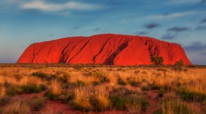Uluru Spotlights Prosperity Question