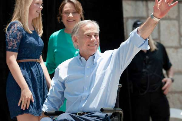 Texas Governor Responds to Atheist's Comment about His Wheelchair
