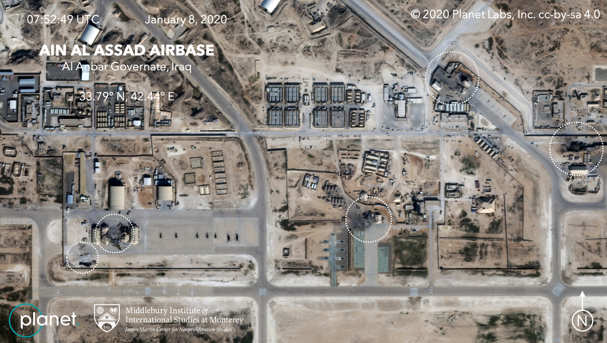 Analysis of the Airstrike on the Ayn al-Assad Airbase