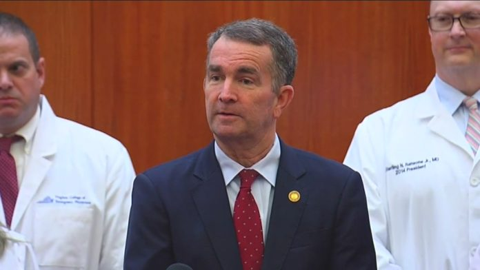 Virginia Governor Criminalizes Church Gatherings of More than Ten People