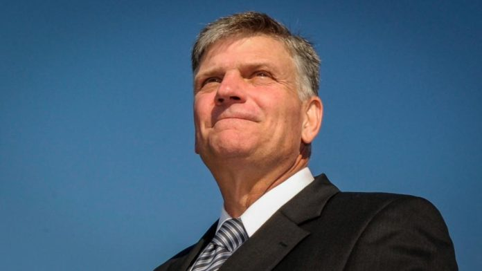 "Franklin Graham: The Coronavirus Pandemic Is Here because ""Man Has Turned His Back on God"""