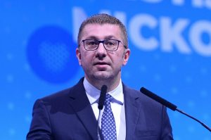 Macedonian Opposition Leader Hristijan Mickoski Self-Isolates following Contact with Corona-Carrying Journalist