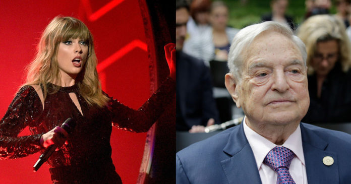 "Taylor Swift Slams Soros Family for ""Shameless Greed in the Time of Coronavirus"""