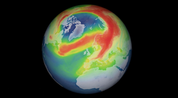 The Largest Ozone Hole Ever Recorded Over North Pole Has Finally 'Healed Itself' and Closed