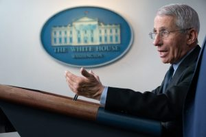 Judicial Watch Seeks Release of Dr. Fauci's Communications with WHO