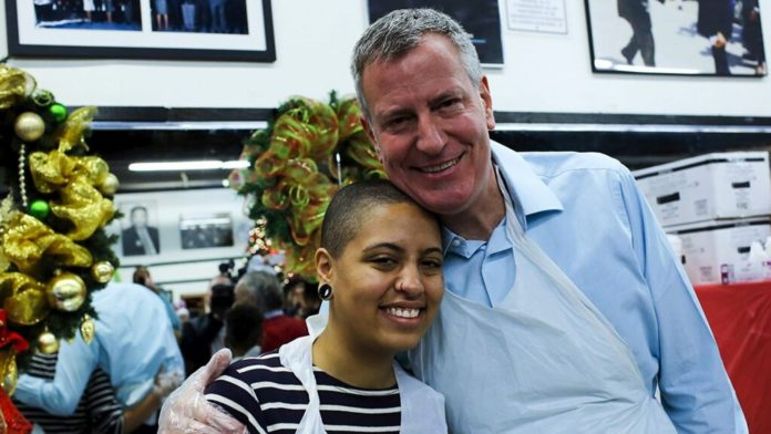 """NYC Mayor Bill de Blasio Is """"So Proud"""" of His Daughter after She Gets Arrested for Blocking NYC Street"""