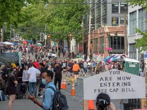"It Only Took Two Days for Seattle's ""Autonomous Zone"" to Descend into Chaos…"